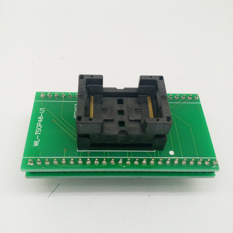 ANDK Standard TSOP48-0.5 Open Top Programming Socket IC354-0482-031/035 IC Test Socket Flash Programmer Adapter