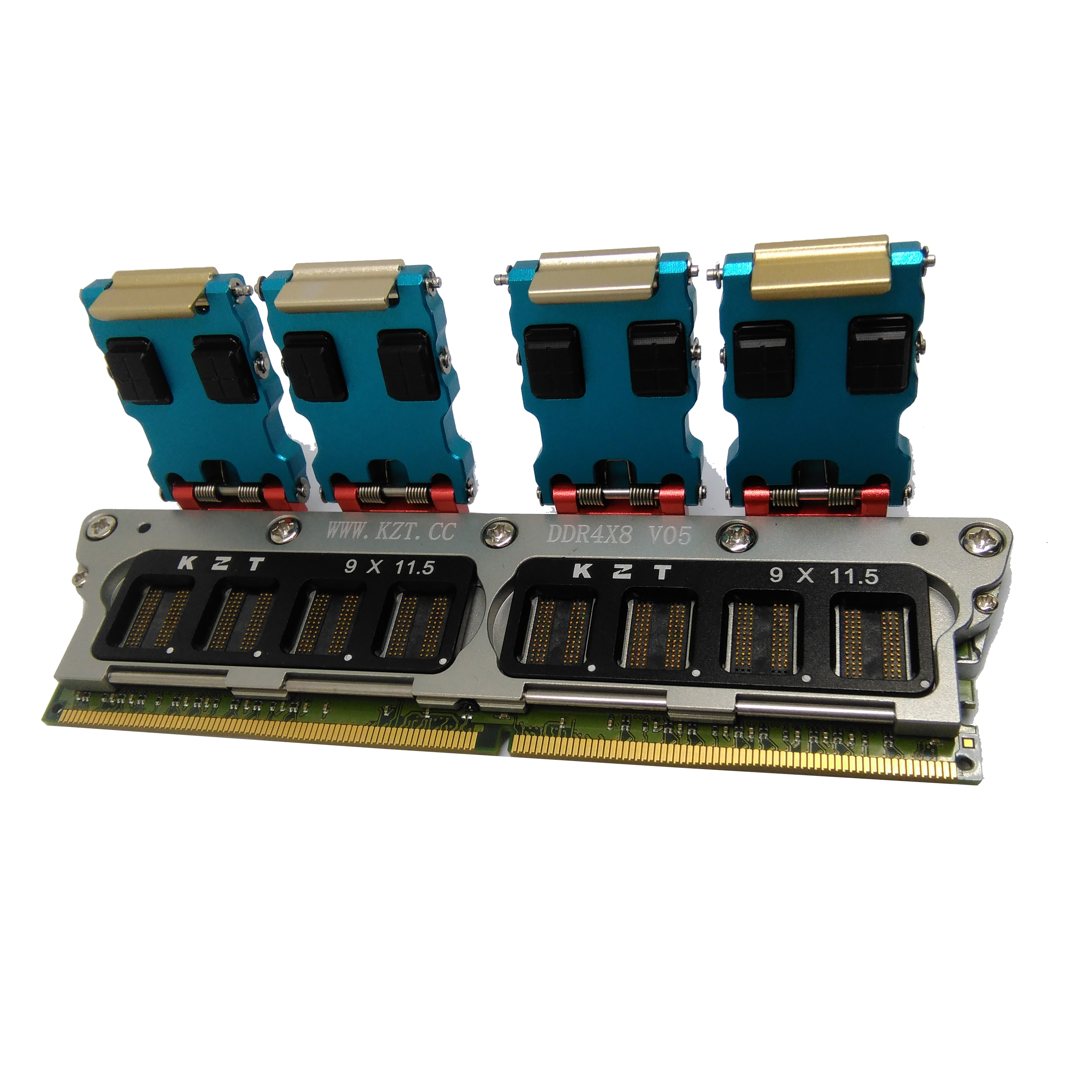 DDR4 SDRAM Particle Test Fixture Multi-fuction All in one Jig Memory Chip Burn in Socket Excellent Quality