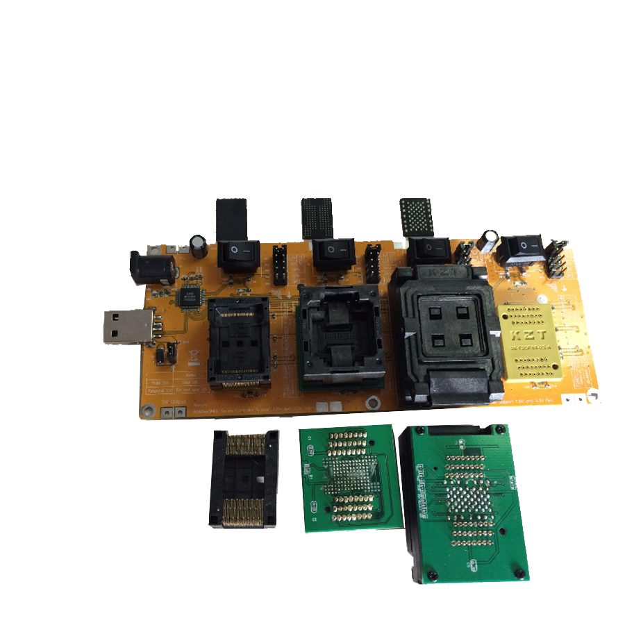 Flash chip batch tester for U disk flash clearance second-class or recyle chips BGA152 BGA132 BGA100 BGA88 LGA52 TSOP48