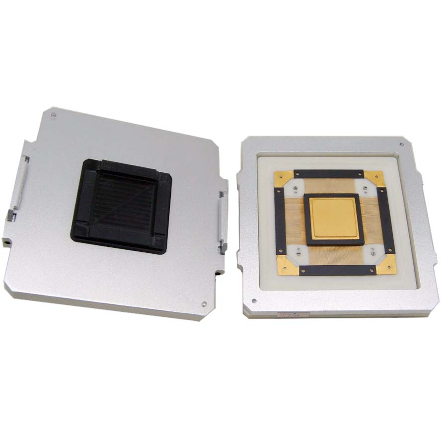 DX3078 for CQFP208 QFP208 Socket/Adapter with Alloy Clamshell