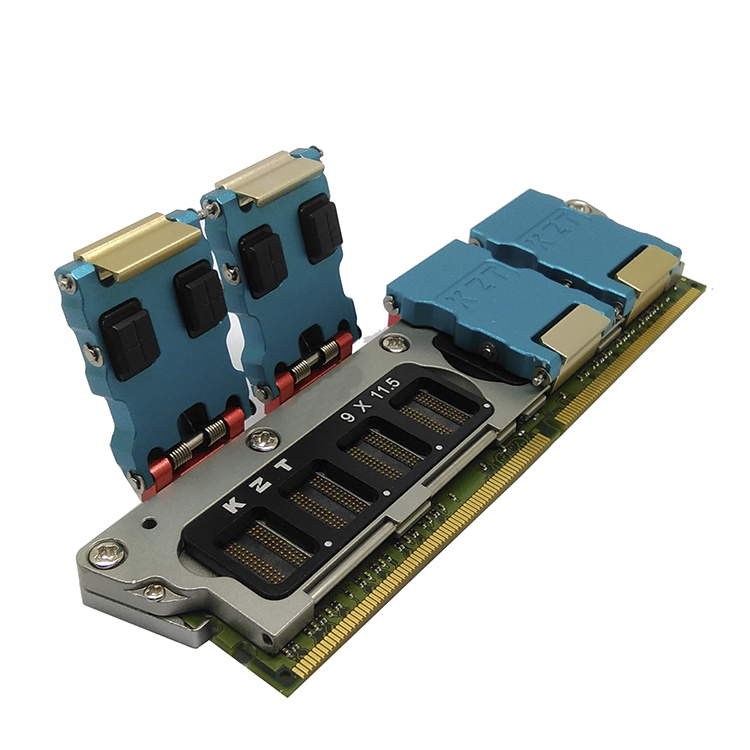 DDR4 8bit DDR Fixture for testing Memory particle with any chip customized size