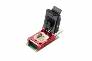 UFS test adapter with USB 3.0 interface  Main master JMS901 can be working for Hynix Samsung clamshell programmer adapter