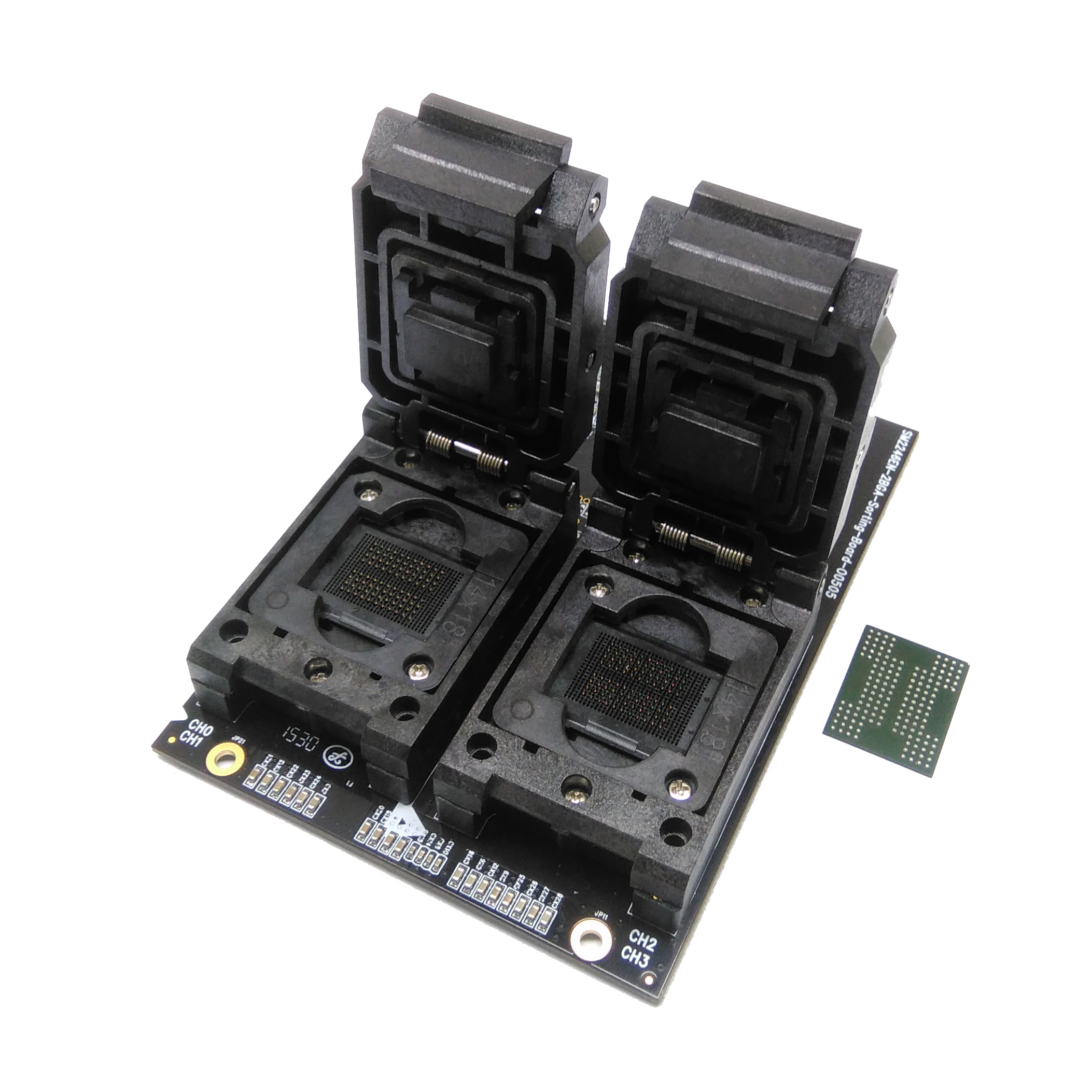 New Arrival BGA152 BGA132 Test Socket Clamshell Structure Jig SSD Interface Socket Fixture Excellent Quality