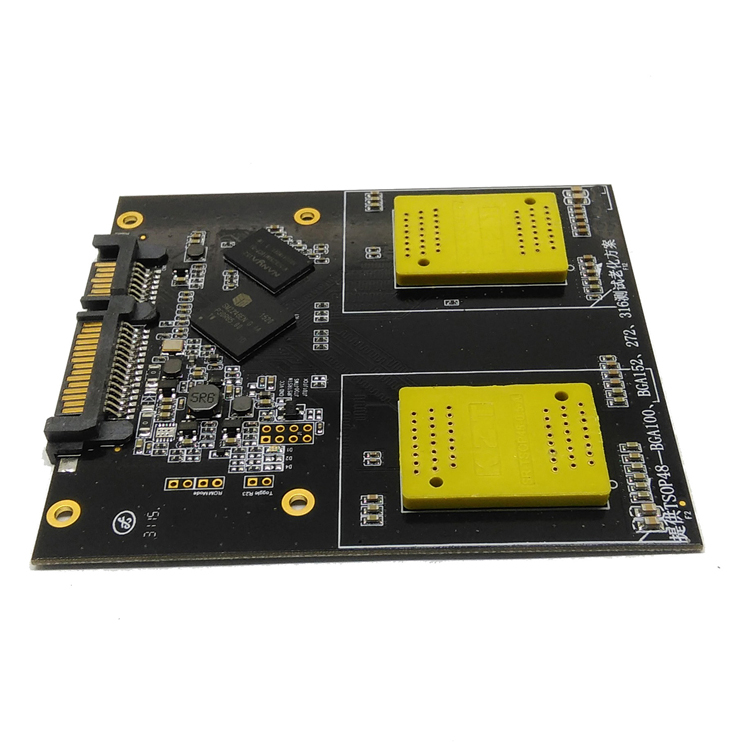 SSD 2 in 1 SM2246EN Test Board BGA152/132/100/88 TSOP48 NAND Flash Test Flash Memory SM2246EN SM2256K SM2258H solutions for SSD